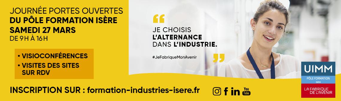 JPO Pôle formation Isère 27 mars 2021